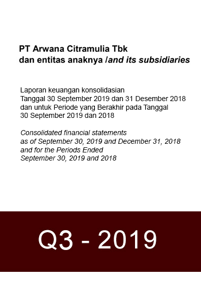 Financial Report 2019 Q3